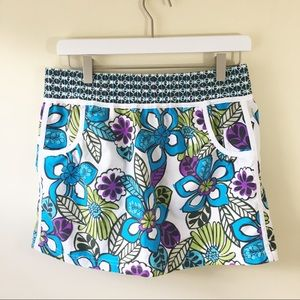 Athleta | Floral Skirt